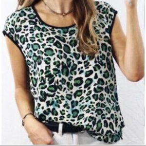 Cabi Jungle Leopard Top